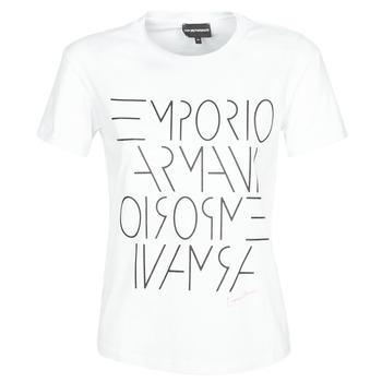 Abbigliamento Donna T-shirt maniche corte Emporio Armani  Bianco