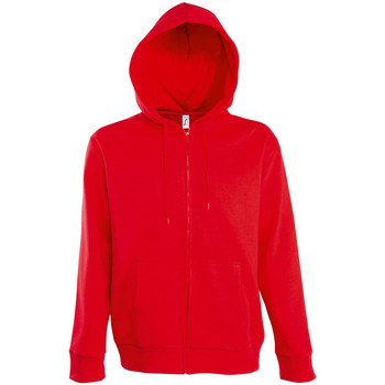 Abbigliamento Uomo Giacche sportive Sols SEVEN KANGAROO MEN Rojo