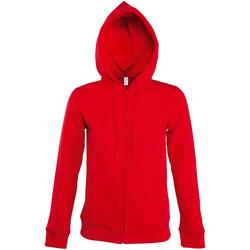 Abbigliamento Donna Giacche sportive Sols SEVEN KANGAROO WOMEN Rojo