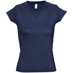 Abbigliamento Donna T-shirt maniche corte Sols MOON COLORS GIRL Azul