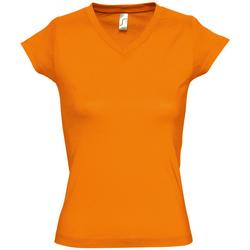 Abbigliamento Donna T-shirt maniche corte Sols MOON COLORS GIRL Naranja