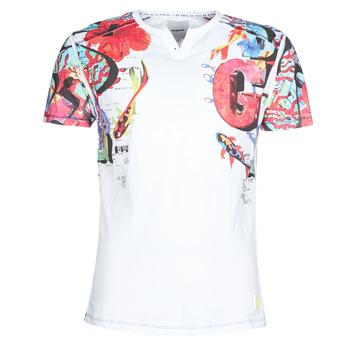Abbigliamento Uomo T-shirt maniche corte Desigual LIAN Multicolore
