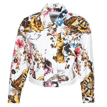 Abbigliamento Donna Giacche in jeans Desigual FANTASY Multicolore