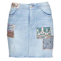 Abbigliamento Donna Gonne Desigual PATTY Blu