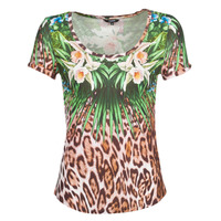 Abbigliamento Donna T-shirt maniche corte Desigual JUNGLE Multicolore