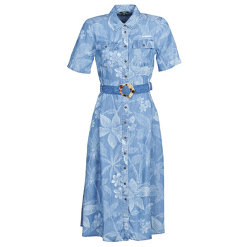 Abbigliamento Donna Abiti lunghi Desigual KATE Blu