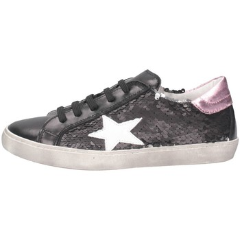 Scarpe Bambina Sneakers basse Dianetti Made In Italy I94290D Sneakers Bambina Rosa Rosa