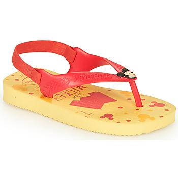Scarpe Bambino Infradito Havaianas BABY DISNEY CLASSICS II  yellow / Red