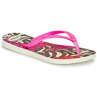 Scarpe Bambina Infradito Havaianas SLIM ANIMALS Pink / Black