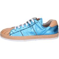 Scarpe Donna Sneakers basse Moma BR907 Blu
