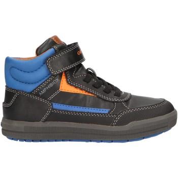 Scarpe Bambino Sneakers alte Geox J845SA 000BC J ARZACH Negro