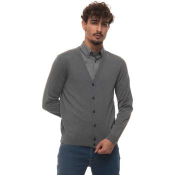 Abbigliamento Uomo Gilet / Cardigan Hugo Boss MARDON-E-50392802030 grigio medio