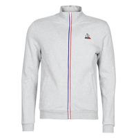 Abbigliamento Uomo Giacche sportive Le Coq Sportif ESS FZ Sweat N°2 M Grigio / Chiné