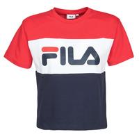Abbigliamento Donna T-shirt maniche corte Fila ALLISON Marine / Rosso / Bianco