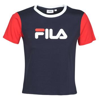 Abbigliamento Donna T-shirt maniche corte Fila SALOME Marine / Rosso