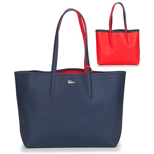Borse Donna Tote bag / Borsa shopping Lacoste ANNA Marine / Rosso
