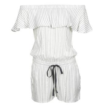 Abbigliamento Donna Tuta jumpsuit / Salopette Deeluxe FAYME Bianco / Blu