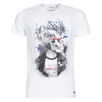 Abbigliamento Uomo T-shirt maniche corte Deeluxe ENFIELDON Bianco