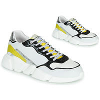 Scarpe Donna Sneakers basse Serafini OREGON Bianco / Nero / Giallo