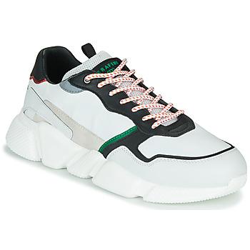 Scarpe Uomo Sneakers basse Serafini OREGON Bianco / Nero