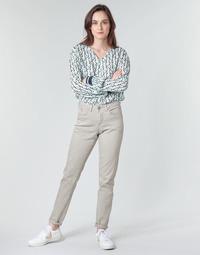Abbigliamento Donna Pantaloni 5 tasche Cream ANNIE Grigio
