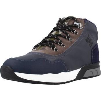 Scarpe Bambino Sneakers alte Garvalin 191421 Blu
