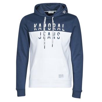 Abbigliamento Uomo Felpe Kaporal TOSCA Bianco / Blu