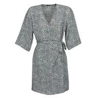 Abbigliamento Donna Abiti corti Ikks BQ30415-03 Nero / Bianco