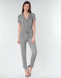 Abbigliamento Donna Tuta jumpsuit / Salopette Ikks BQ32045-03 Nero / Bianco
