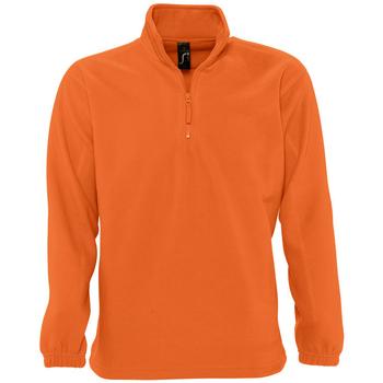 Abbigliamento Felpe in pile Sols NESS POLAR UNISEX Naranja