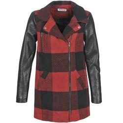 Abbigliamento Donna Cappotti Noisy May TEXAS Rosso / Nero