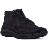 Scarpe Donna Sneakers alte Ara VELOUR BLAU Blu