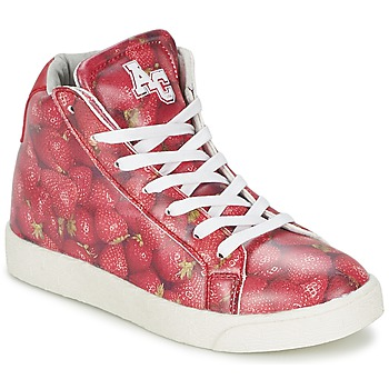 Sneakers alte American College RED