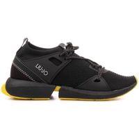 Scarpe Donna Sneakers basse Liu Jo B69045TX022 Sneaker  Donna Nero Nero