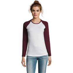 Abbigliamento Donna T-shirts a maniche lunghe Sols MILKY LSL SPORT Multicolor