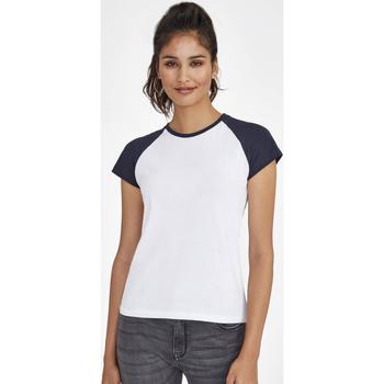 Abbigliamento Donna T-shirt maniche corte Sols MILKY BICOLOR SPORT Multicolor