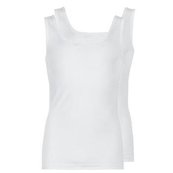 Abbigliamento Uomo Top / T-shirt senza maniche Athena COTON BIO Bianco