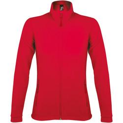 Abbigliamento Donna Felpe in pile Sols NOVA WOMEN SPORT Rojo