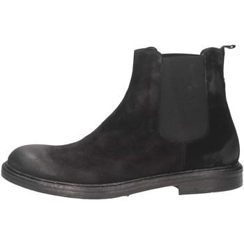 Scarpe Uomo Sneakers alte Andre' 6506_4 CAMOSCIO Nero