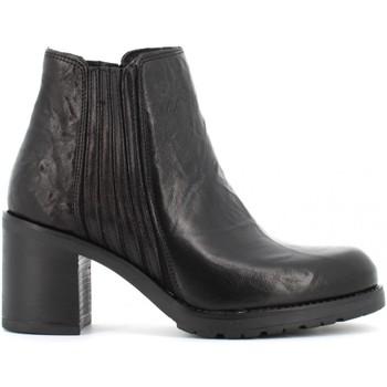 Scarpe Donna Tronchetti Creative scarpe donna stivaletti ESTER 731 TERRY NERO Pelle