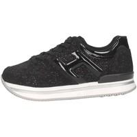 Scarpe Bambina Sneakers basse Hogan HXC2220T548M9KB999 Sneakers Bambina Nero Nero