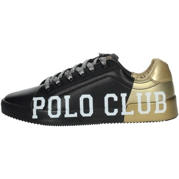 Scarpe Donna Sneakers basse Beverly Hills Polo Club PC107 Sneakers Donna NERO/ORO NERO/ORO