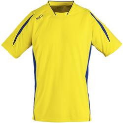 Abbigliamento Uomo T-shirt maniche corte Sols MARACANA 2 SSL SPORT Amarillo
