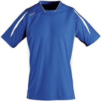 Abbigliamento Uomo T-shirt maniche corte Sols MARACANA 2 SSL SPORT Azul