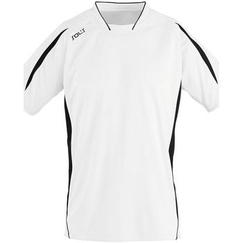 Abbigliamento Uomo T-shirt maniche corte Sols MARACANA 2 SSL SPORT Blanco
