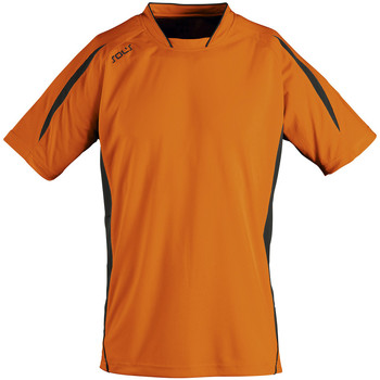 Abbigliamento Uomo T-shirt maniche corte Sols MARACANA 2 SSL SPORT Naranja