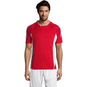 Abbigliamento Uomo T-shirt maniche corte Sols MARACANA 2 SSL SPORT Rojo