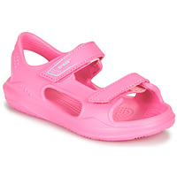 Scarpe Bambina Sandali sport Crocs SWIFTWATER EXPEDITION SANDAL K Rosa