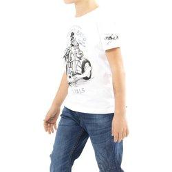 Abbigliamento Bambino T-shirt maniche corte Scorpion Bay T-Shirt Bambino Bianca Bianco