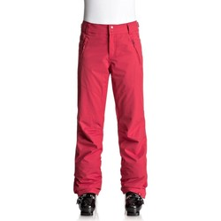 Abbigliamento Donna Chino Roxy Pantalone Donna Snowboard Rosso